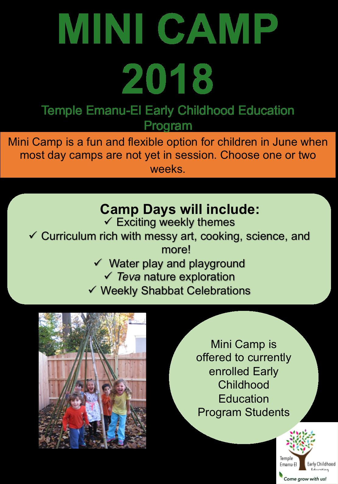 mini camp 2018