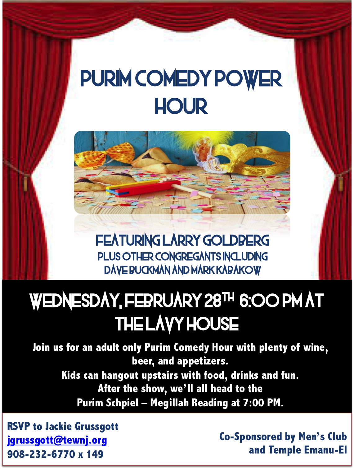 purim comedy night 2
