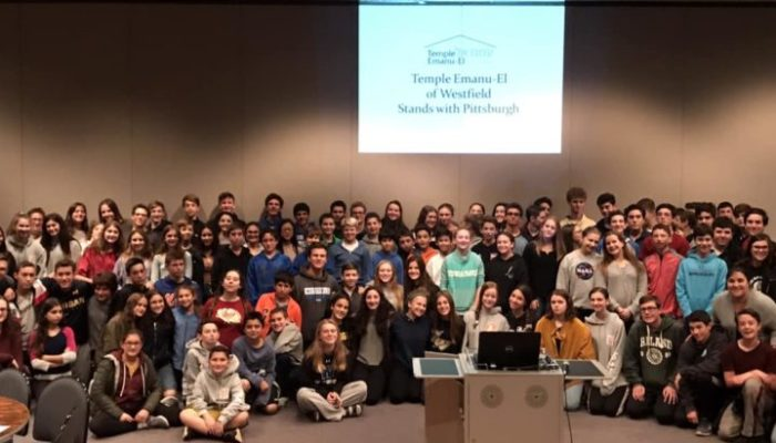 Temple Emanu-El Stands with Pittsbugh