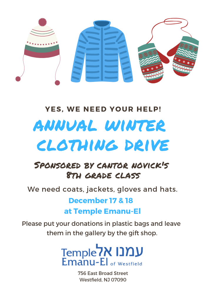 annual winter clothing drive (1)