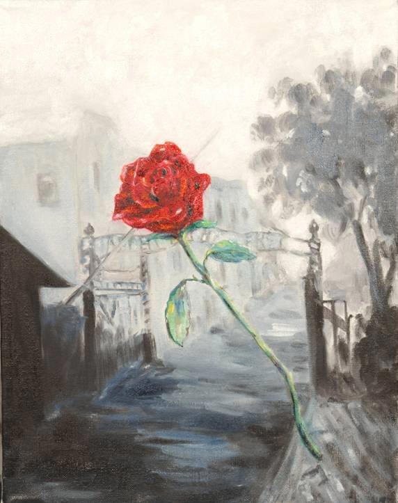 Auschwitz Rose by Mary Rae