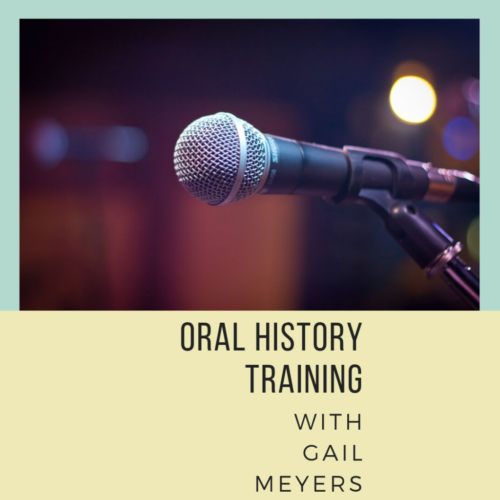 Oral History Training