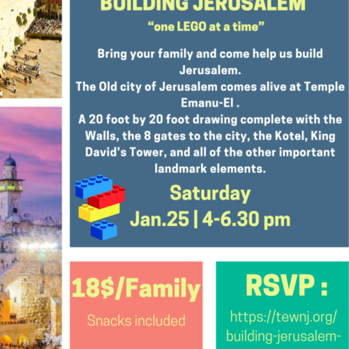"Building Jerusalem ""one LEGO at a time"""