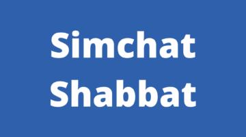 Simchat Shabbat