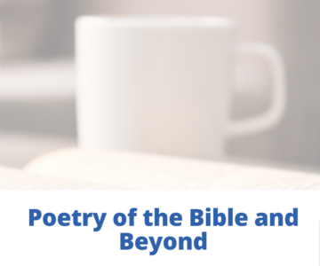 Poetry of the Bible and Beyond with Rabbinic Intern Becky Jaye