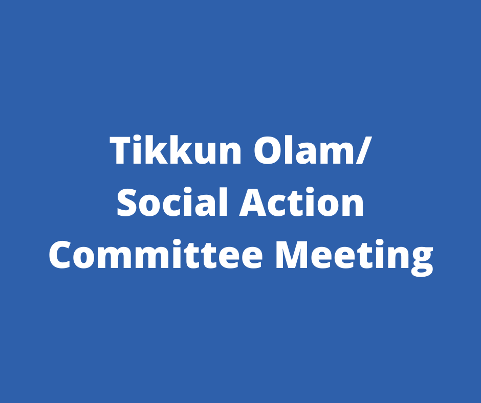 Tikkun Olam Meeting