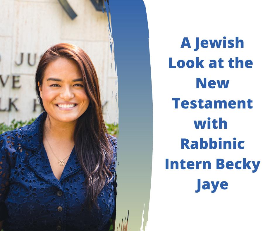 Copy of A Jewish Look at the New Testament (1)