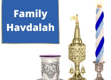 Family Havdalah