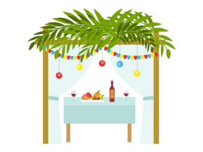 Sweets in the Sukkah with Hamishim (1)