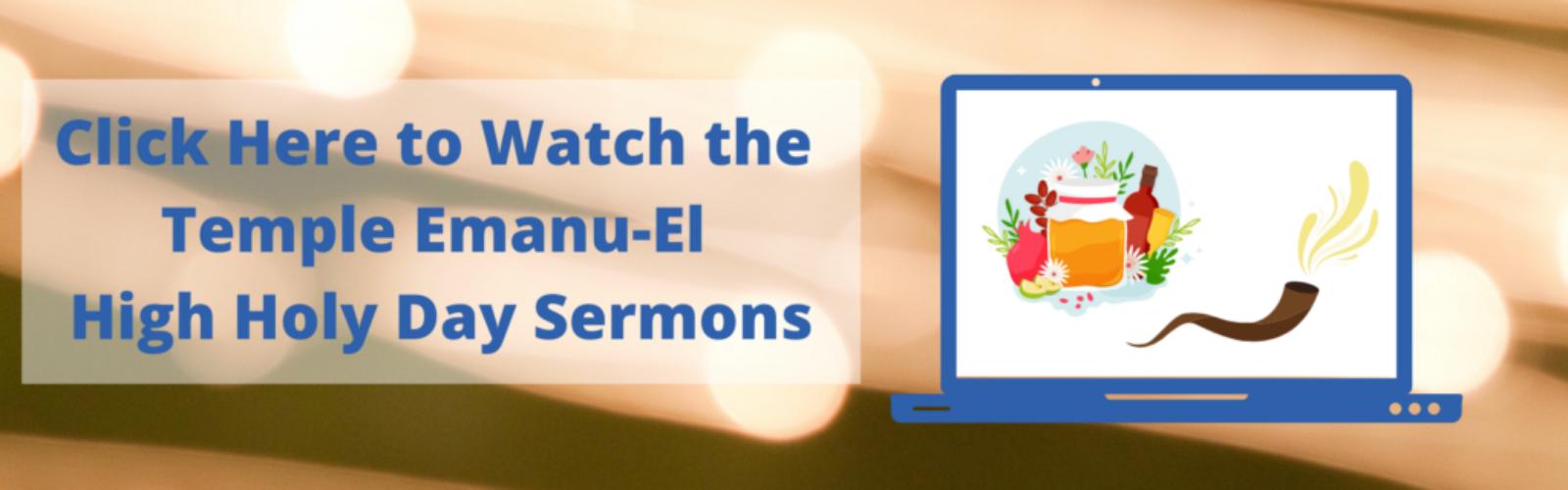 High Holy Day Sermons